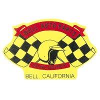ホットロッド ステッカー BELL AUTO PARTS RACING EQUIPMENT ステッカー
