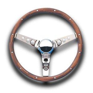 画像1: Grant Classic Wood Model Steering Wheel 37cm