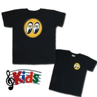 MOON アイボール Kids T-Shirts Black from USA