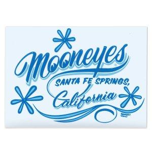 画像1: MOONEYES California Pinstripe Sticker ブルー