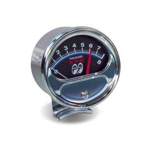 画像1: MOON 8000 RPM エレクトロニック タコ メーター