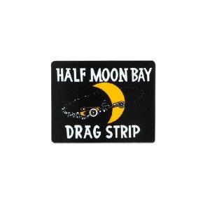 画像1: ホットロッド ステッカー HALF MOON BAY DRAG STRIP ステッカー【裏貼りタイプ】