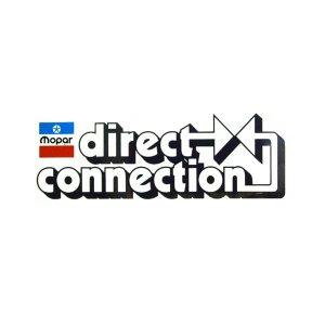 画像1: ホットロッド ステッカー MOPAR Direct Connection ステッカー