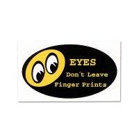 Don't Leave Finger Prints ステッカー