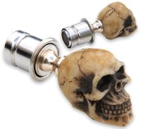Bone-Z Skull  Cigar Lighter