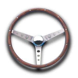 画像1: Grant Classic Ford Model Wood Steering Wheel 34cm
