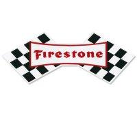 ホットロッド ステッカー Firestone ステッカー