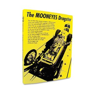画像1: MOONEYES DRAGSTER バインダー.