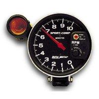 5インチ スポーツコンプ 10000RPM シフトライト タコメーター 4/ 6/ 8気筒用