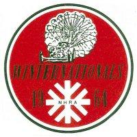 ホットロッド ステッカー 1964 NHRA WINTERNATIONALS デカール