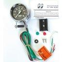 他の写真1: MOON Mini Tachometer Black 8000rpm