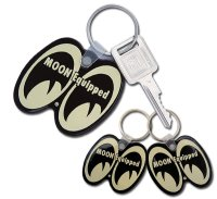MOON Equipped Key Ring