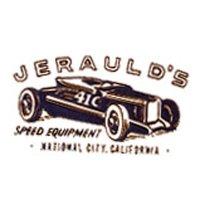 ホットロッド ステッカー JERAULD'S SPEED EQUIPMENT ステッカー