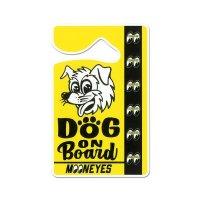 MOONEYES パーキング パーミット - DOG ON BOARD.