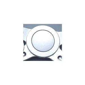 画像1: レカラ ビレット フルカバー フラット ホーン キャップ