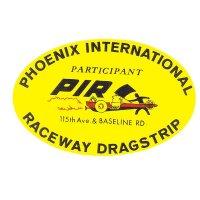 ホットロッド ステッカー PHOENIX INTERNATIONAL RACEWAY DRAG STRIP ステッカー