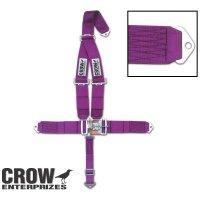 スタンダード ラッチ & リンク CROW シートベルト<ボルト イン マウント> (CROW1100)