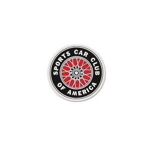 画像1: SCCA ステッカー 6cm