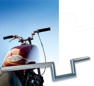 画像1: MOON Custom Cycle Shop Original Hadle Bars(ステンレス製).