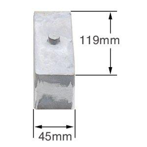 画像1: スモール ロワーリング ブロック (2インチ)