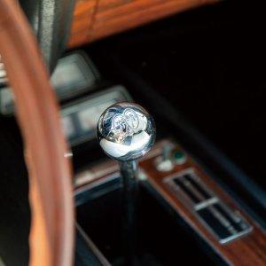 画像1: MOONEYES クローム ボール シフトノブ MOON