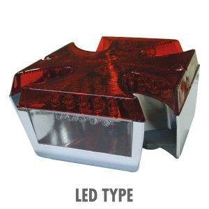 画像2: Iron Cross LED テール ランプ
