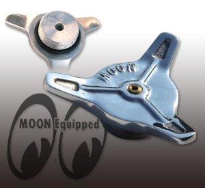 画像1: MOON Spinner Cap for Motorcycle ベント付き