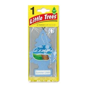 画像1: Little Tree エアーフレッシュナー Summer Linen