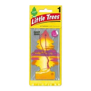 画像1: Little Tree エアーフレッシュナー サンセット ビーチ