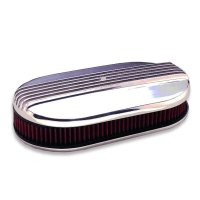 MOONEYES Original Oval Finned Air Cleaner