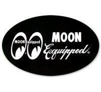 MOON Equipped オーバル ステッカー