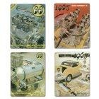 他の写真1: MOON ビンテージ サイン プレート 1968年 Back Cover