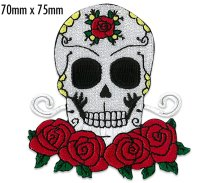 Skull&Roses Patch