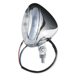 画像2: 4-1/2 Chrome Smooth ヘッドライト