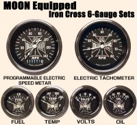 MOON Equipped Iron Cross 6-Gauge Set