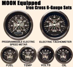 画像1: MOON Equipped Iron Cross 6-Gauge Set
