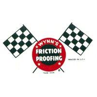 ホットロッド ステッカー WYNN'S FRICTION PROOFING ステッカー
