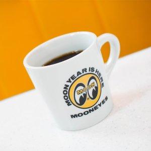 画像1: MOONEYES コーヒー マグ
