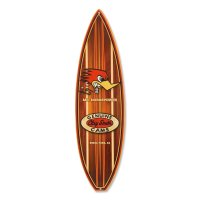 Clay Smith Woodie Surfboard メタル サイン