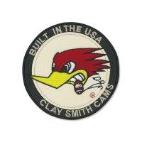 Clay Smith パッチ (ワッペン) ラウンド