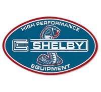 ホットロッド SHELBY HI PERFORMANCE EQUIPMENT 【Big Size】ステッカー