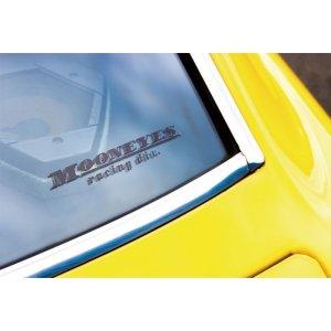 画像1: MOONEYES racing div. 抜きデカール