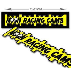 画像1: MOON Racing Cams ステッカー