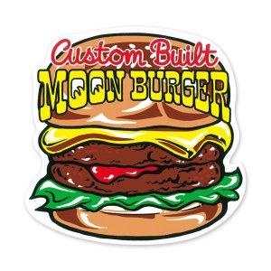 画像1: MOON バーガー ステッカー