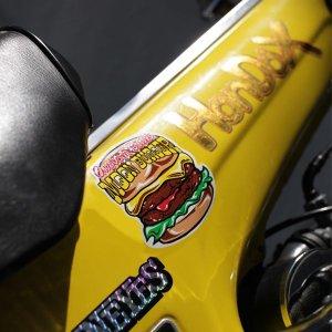 画像2: MOON バーガー ステッカー