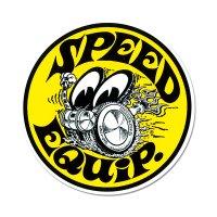 Speed Equip ラウンド ステッカー