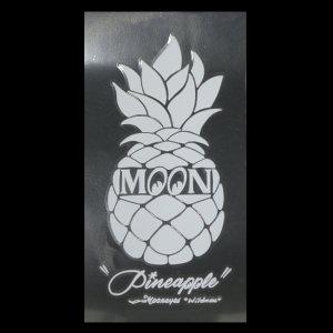 画像2: Pineapple ステッカー ホワイト (抜きタイプ)