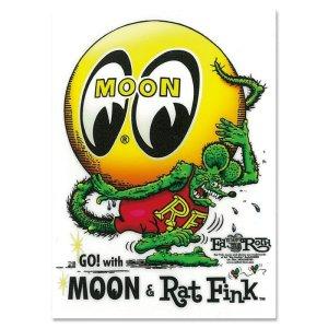 画像2: Rat Fink x MOON アイボール ステッカー