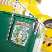 Rat Fink x MOON Fast Rat Rule ステッカー