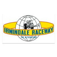 HOT ROD ノスタルジック ステッカー Irwindale Raceway デカール